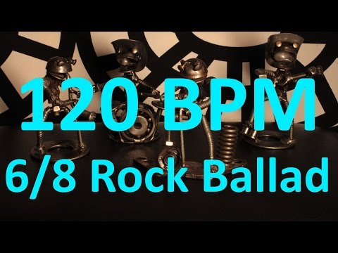 100 BPM - PUNK - 4/4 Drum Track - Metronome - Drum Beat - Backing