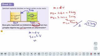 Eğitim Vadisi TYT Fizik 4.Föy Madde ve Özkütle 2 Konu Anlatım Videoları