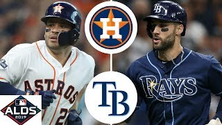 Houston Astros vs. Tampa Bay Rays Highlights | ALDS Game 3 (2019)