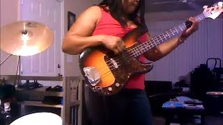 """Joanna"" - Kool & The Gang  Bass Cover"