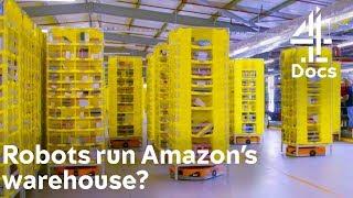 Amazon Warehouse is Run by Robots?