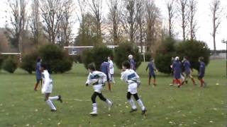 preview picture of video 'RCBM2 vs RC SUCY HAUT VAL DE MARNE (moins de 13 ans) 1ERE MT 27/11/2010'
