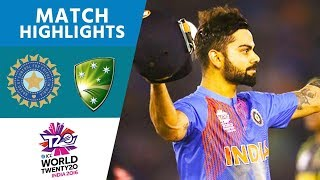 Kohli's 82* Steers Hosts Home | India vs Australia | ICC #WT20 2016 - Highlights