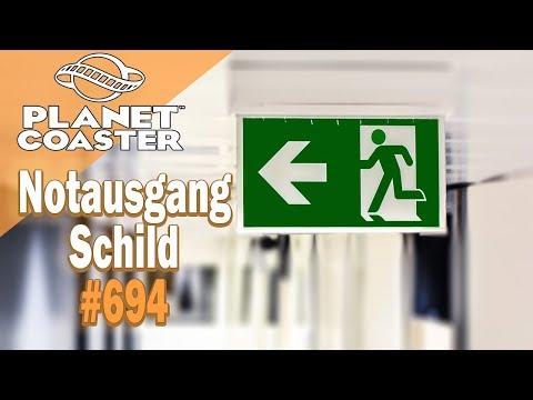 Notausgang Schild [Timelapse] 🎢 PLANET COASTER #694