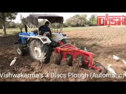 3 Discs Plough