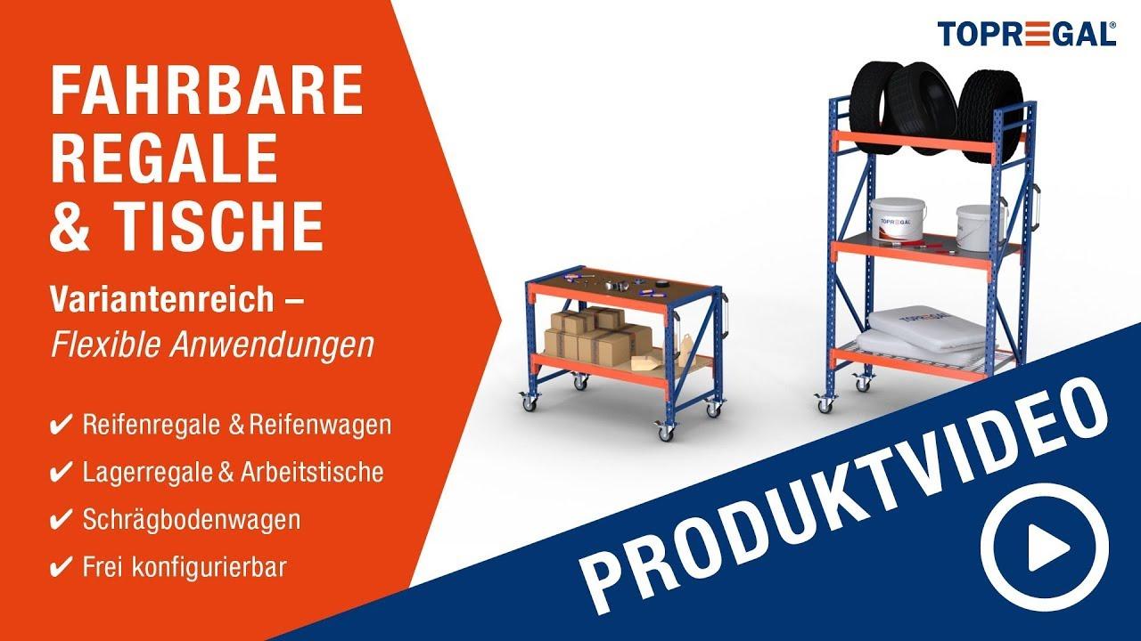 Produktvideo Fahrbare Regale & Tische