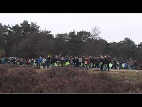 Flashmob 14 maart 2012 Sint Anthonis