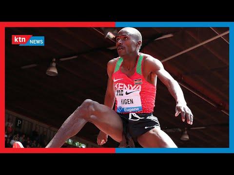 Mwanariadha Benjamin Kigen anayeshiriki mbio ya mita 800 awania medali Tokyo | Zilizala Viwanjani