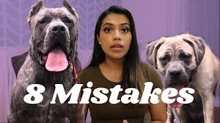 Mistakes YOU'RE Making in Training Your Cane Corso