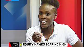 Equity Hawks team, the reigning Kenya Basketball Federation League Champion | Scoreline