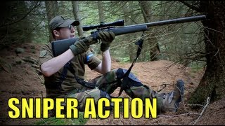 Airsoft Sniper Scout VSR G-SPEC Section8 Scotland