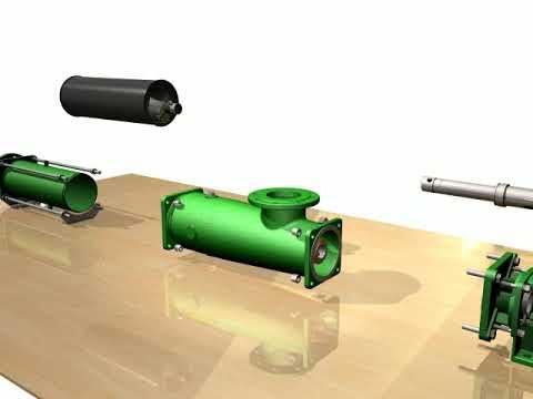 Tirrana Agricultural Single Screw Pump