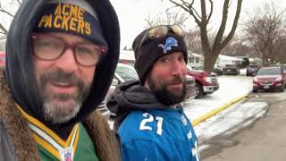 Green Bay Packers Lay An Egg Against the Detroit Lions and My Brother is Happy