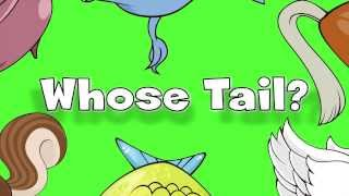Whose Tail? | Learn Animals Song for Kids