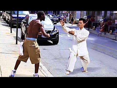 Wing Chun Master vs Bullies   Wing Chun in the Street