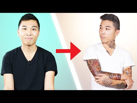 I Covered Myself With Tattoos For A Day