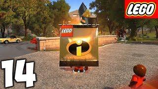 LEGO Суперсемейка. Прохождение. Часть 14 (Бонус уровень. Новые персонажи)