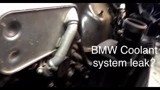 2008 BMW X3 E83 coolant tank replacement - NO LEAKS!