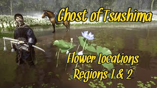 BEST FLOWER LOCATION GHOST OF TSUSHIMA