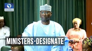 Boss Mustapha Takes The Oaths Of Allegiances