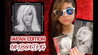 """Unboxing """"Expectations"""" album by Bebe Rexha (Japanese Edition)"""