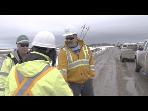 Jay Grewal visits Portage la Prairie - October 2019 storm