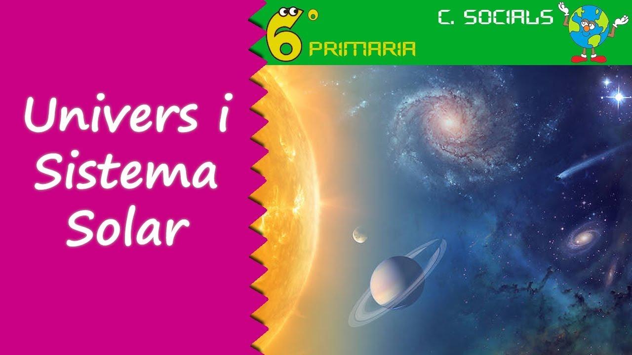 Univers i Sistema Solar. Socials, 6é Primària