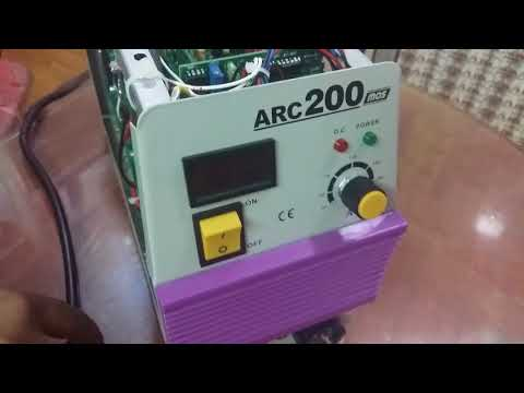 Inverter welding machine 200 AMP
