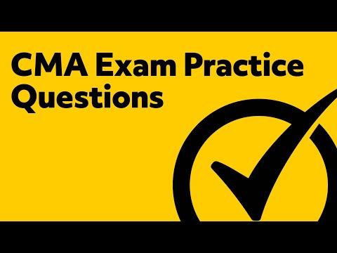 CMA Exam Part 1 Practice Questions - YouTube