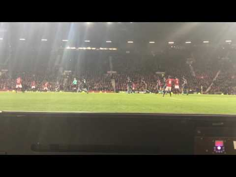 POGBA DANCING AFTER HEADER (man u vs middlesbrough 2-1)