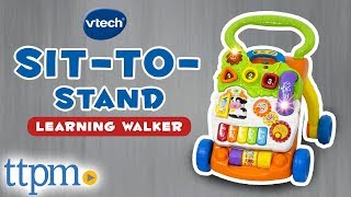 Sit-to-Stand Learning Walker [REVIEW & Instructions] | VTech Toys & Games