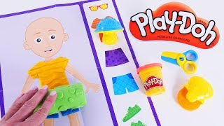 Play Doh Shape & Learn Play Set. Learning Colors and Shapes with DCTC School