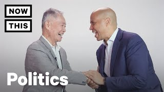 Senator Cory Booker Meets George Takei – FULL INTERVIEW | NowThis