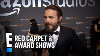 Casey Affleck Reacts To Winning His First Golden Globe  E Live From The Red Carpet