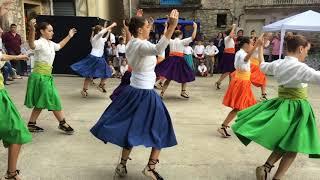 Actuació danses Albanyà 2017