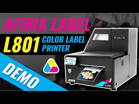 Digital Color Label Printer - Afinia Label L801/L801 Plus