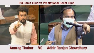 PM Cares Fund: Anurag Thakur takes on the Gandhi family - Download this Video in MP3, M4A, WEBM, MP4, 3GP