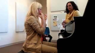 Valentina Lisitsa talks about mindful practice