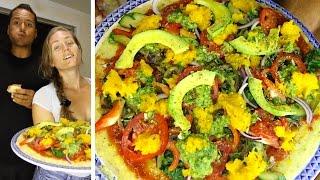 Polenta Pizza Recipe [Gluten-Free+Vegan+Healthy] at The Sexy Tablespoon