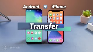 How to Transfer Data from Android to iPhone (2 Free Ways)