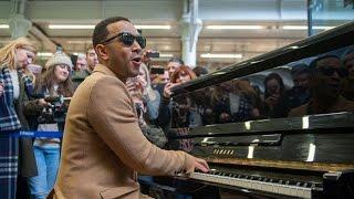 John Legend plays Surefire on piano at St Pancras International | Magic Radio
