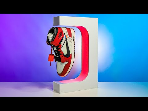 This Floating Shoe Display Made My Sneaker Collection Next Level!
