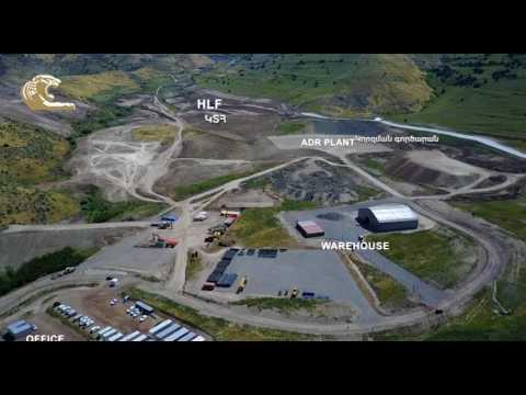 Construction at Amulsar Gold Mine