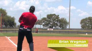 Brian Wegman Shows Off The 2012 Easton Stealth Speed XL Slow Pitch Bat: SSR4 - JustBats.com