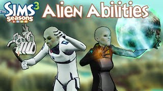 The Sims 3 Seasons: Alien Abilities and How to Find Them
