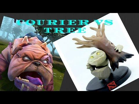 Dota 2 - WTF Part 4 - Tiny Throws Tree & Kills Courier EPIC!