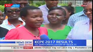 Greenville Academy Eldoret celebrate in jubilation the best performance ever by Cindy Baraza