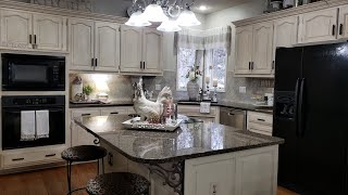 2020 KITCHEN TOUR /KITCHEN DECORATING IDEAS ( FARMHOUSE FRENCH COUNTRY)