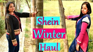 SHEIN BLACK FRIDAY SALE 2019 (Starts Rs 800) TRY ON HAUL- WINTER COLLECTION | PRIYA MALIK