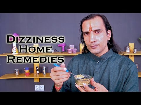 Video Dizziness Treatment - Natural Home Remedies For Dizziness